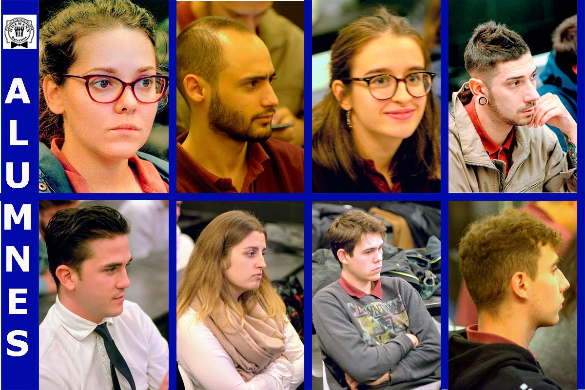 Alumnes Classes magistrals d'Història - Escola Hofmann