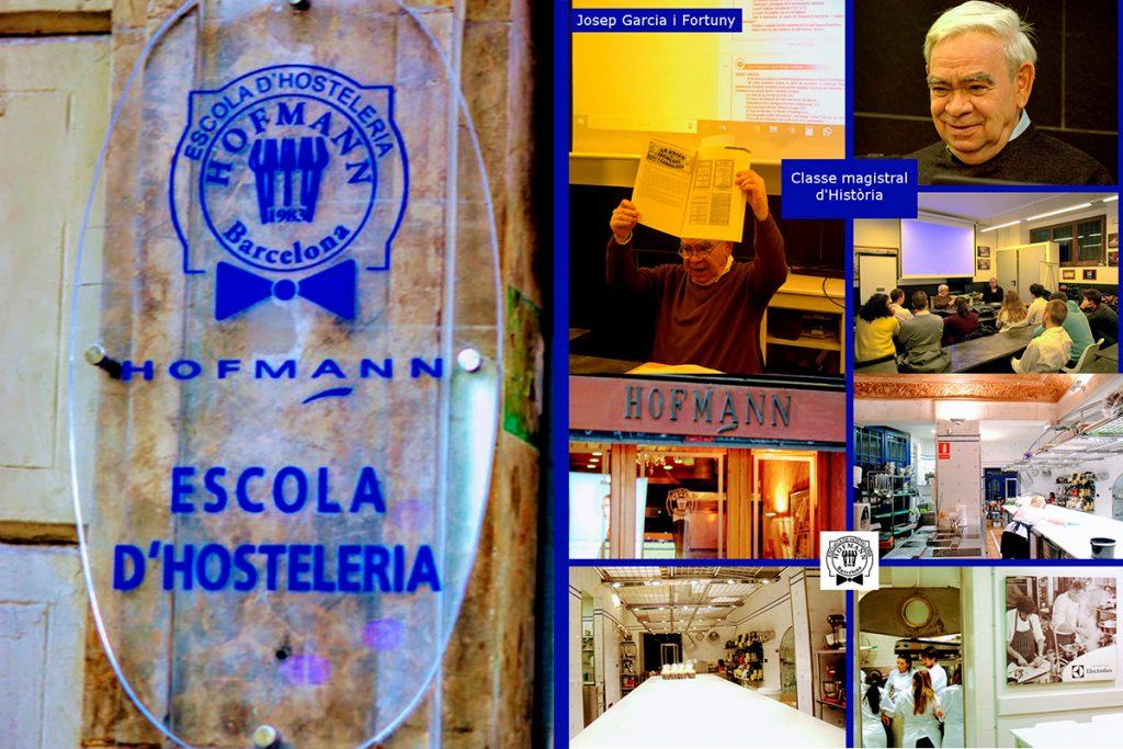 Classes magistrals d'Història Escola Hofmann - Josep Garcia i Fortuny